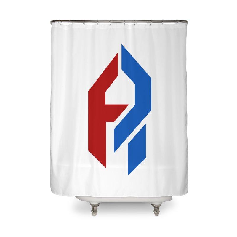Shadeprint. [Versus] Home Shower Curtain by SHADEPRINT.DESIGN