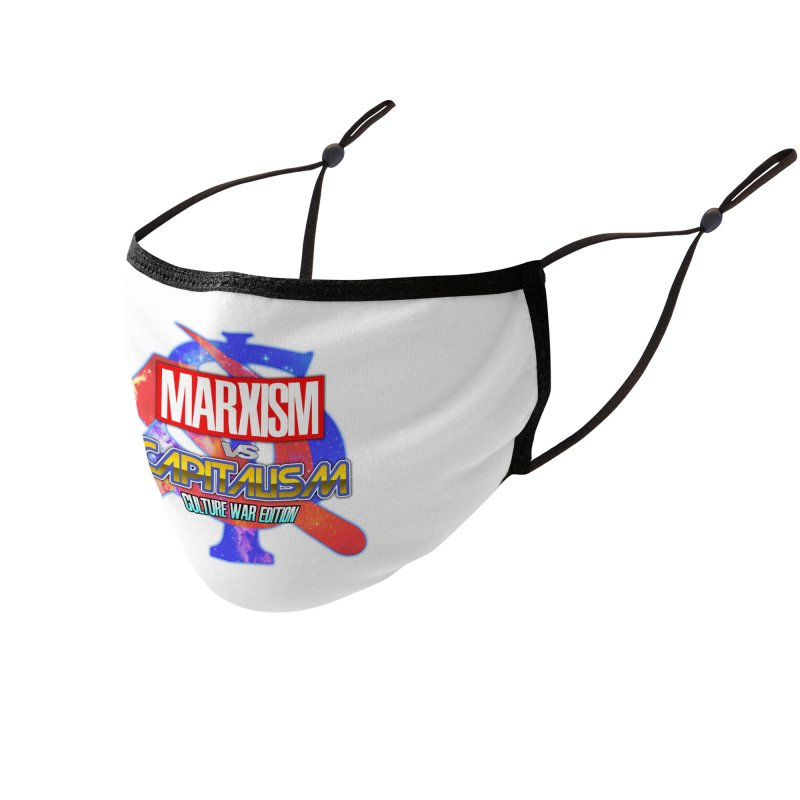 Marxism vs Capitalism: Culture War Edition Accessories Face Mask by SHADEPRINT.DESIGN