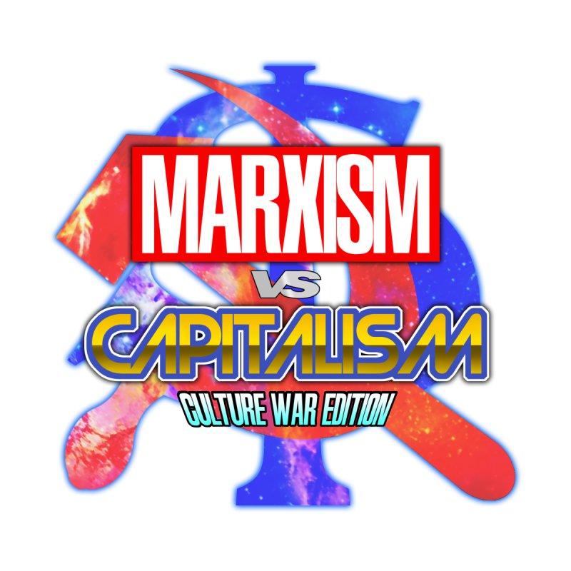 Marxism vs Capitalism: Culture War Edition Women's Zip-Up Hoody by SHADEPRINT.DESIGN