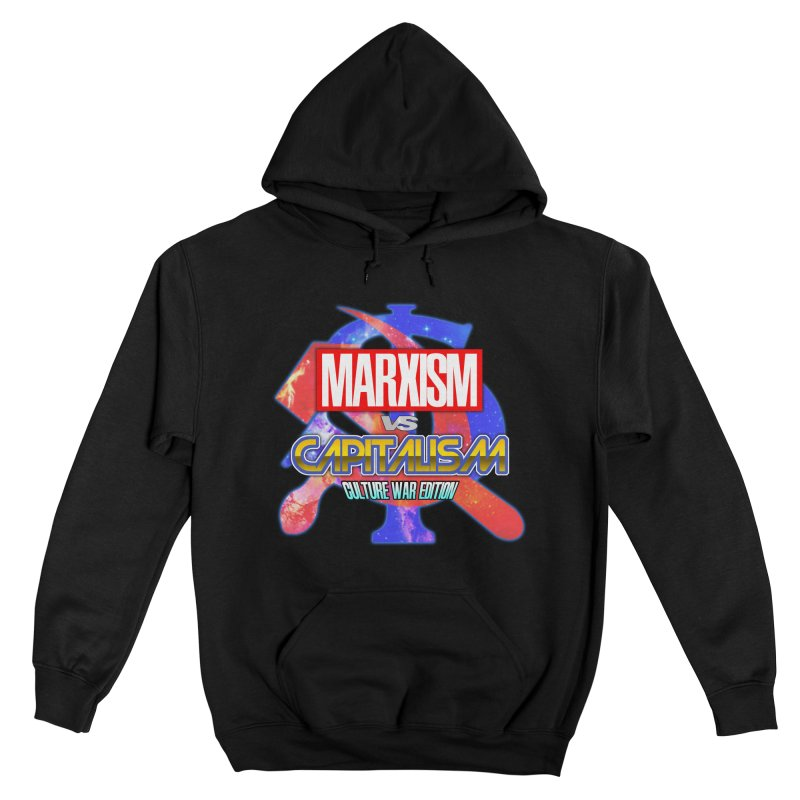 Marxism vs Capitalism: Culture War Edition Women's Pullover Hoody by SHADEPRINT.DESIGN