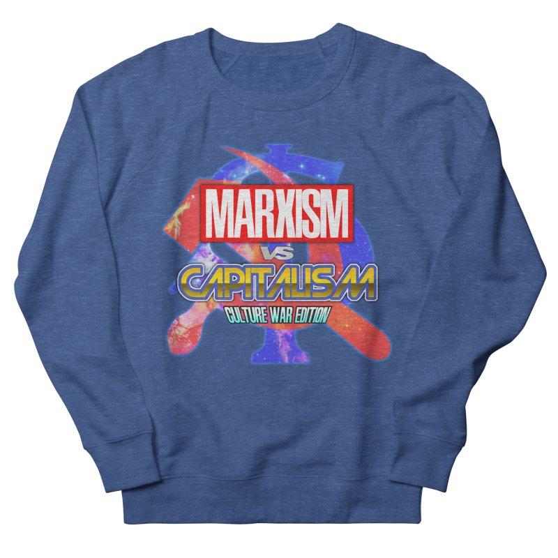 Marxism vs Capitalism: Culture War Edition Men's Sweatshirt by SHADEPRINT.DESIGN