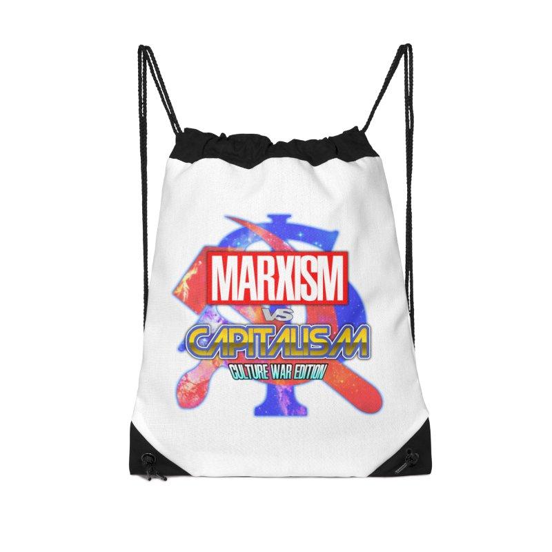 Marxism vs Capitalism: Culture War Edition Accessories Bag by SHADEPRINT.DESIGN