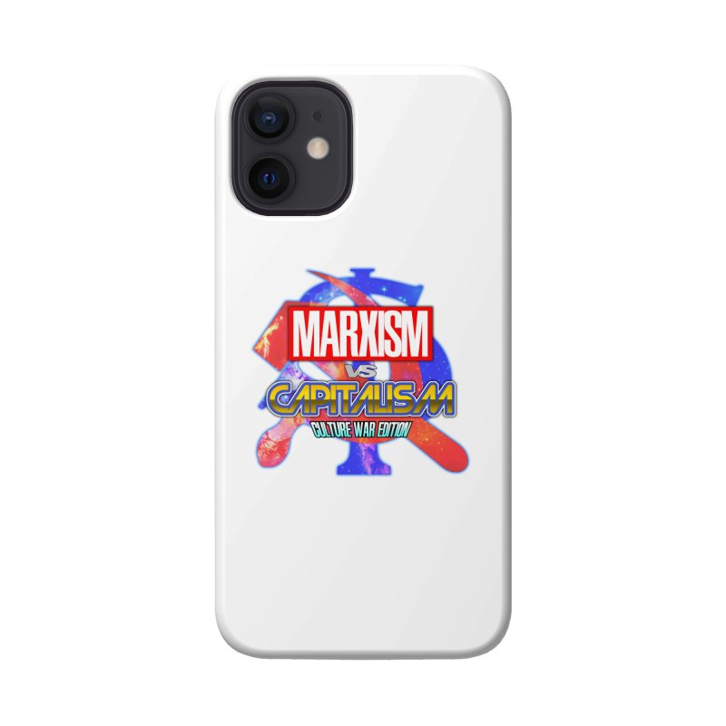 Marxism vs Capitalism: Culture War Edition Accessories Phone Case by SHADEPRINT.DESIGN