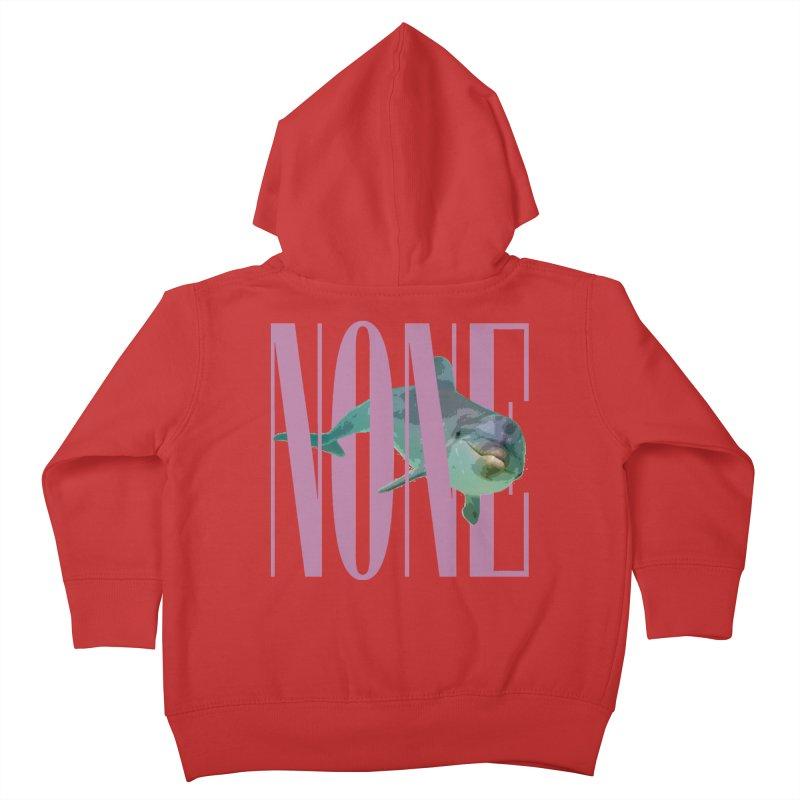 NONE.avi Kids Toddler Zip-Up Hoody by SHADEPRINT.DESIGN