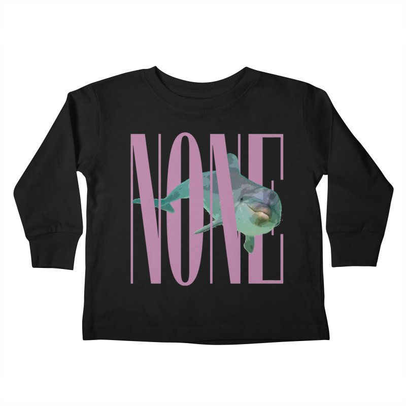 NONE.avi Kids Toddler Longsleeve T-Shirt by SHADEPRINT.DESIGN
