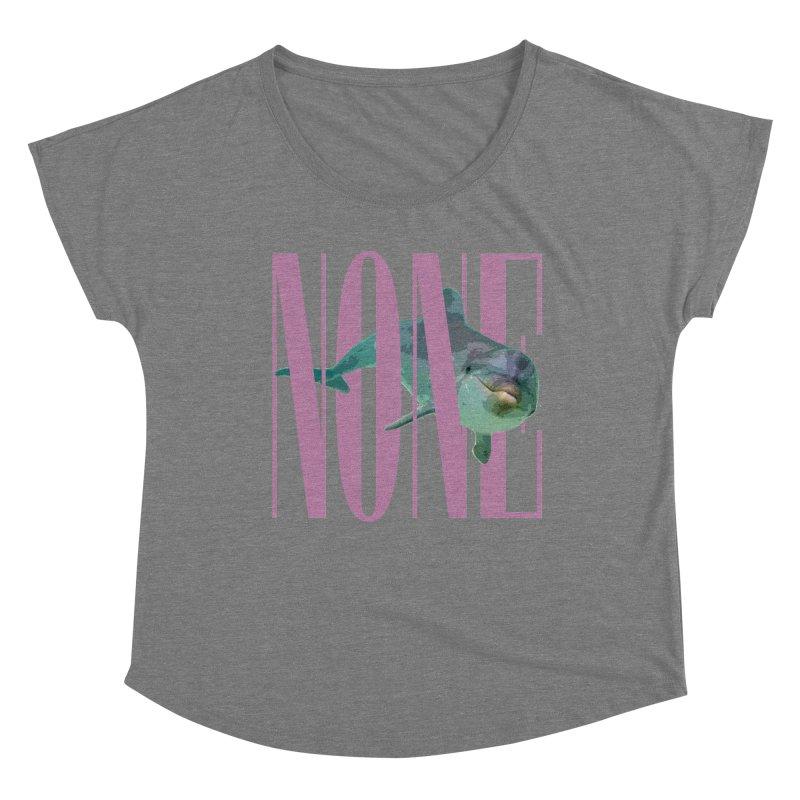 NONE.avi Women's Scoop Neck by SHADEPRINT.DESIGN