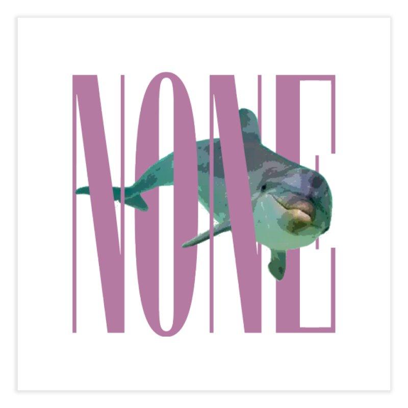 NONE.avi Home Fine Art Print by SHADEPRINT.DESIGN
