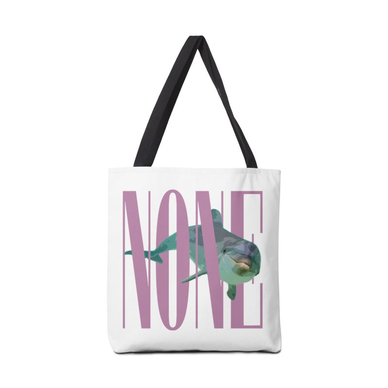 NONE.avi Accessories Bag by SHADEPRINT.DESIGN