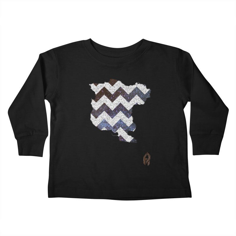 Simulacrum. Kids Toddler Longsleeve T-Shirt by SHADEPRINT.DESIGN