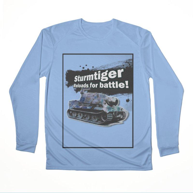 Sturmtiger: Reloads for Battle! Men's Longsleeve T-Shirt by SHADEPRINT.DESIGN