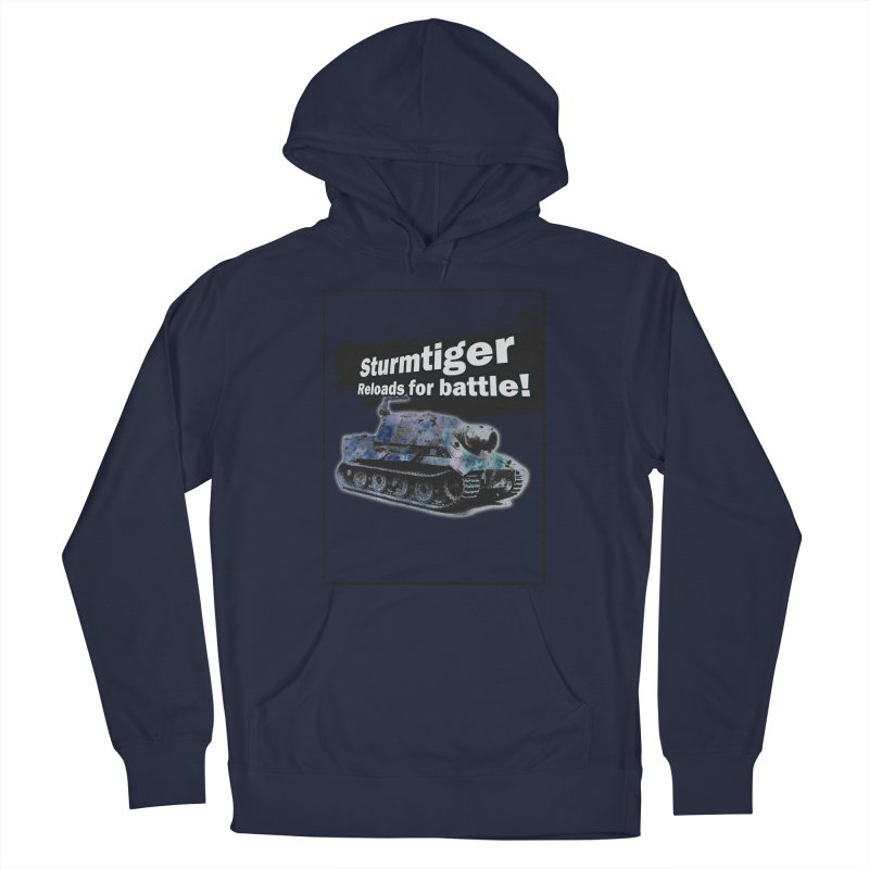 Sturmtiger: Reloads for Battle! Men's Pullover Hoody by SHADEPRINT.DESIGN