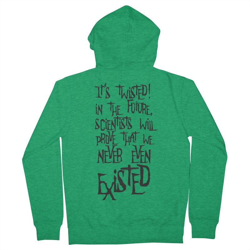 It'S TwiSteD Women's Zip-Up Hoody by SHADEPRINT.DESIGN