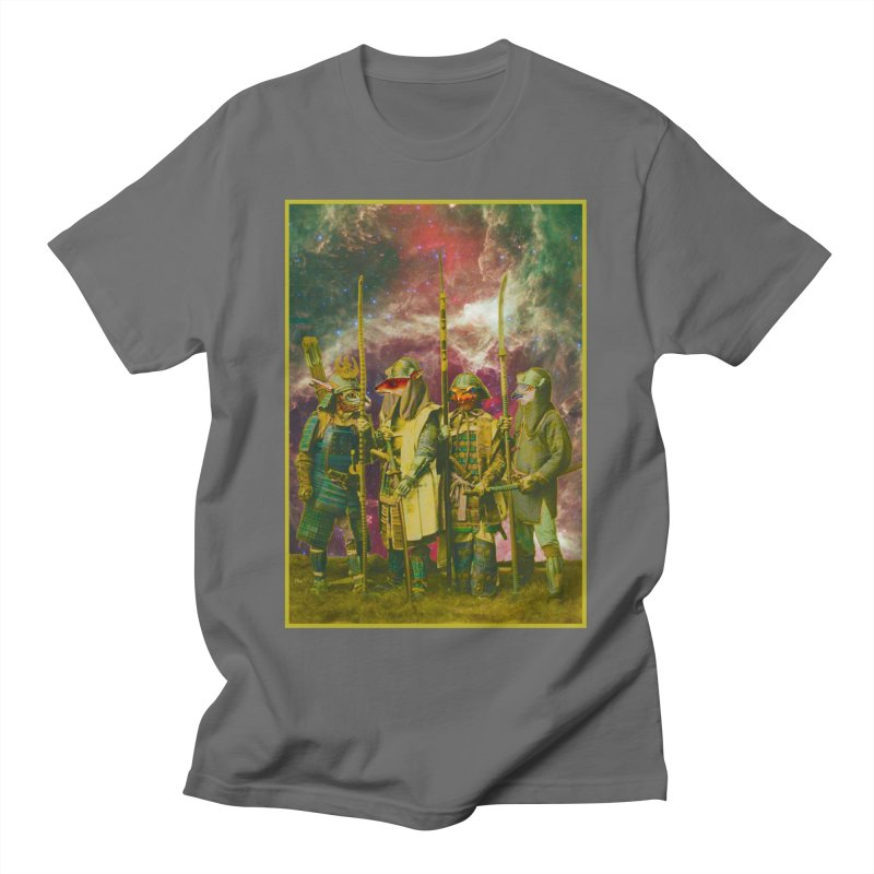 Samurai Space Guardians. Men's T-Shirt by SHADEPRINT.DESIGN