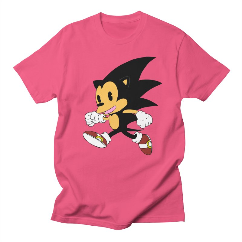 Vintage the Hedgehog Men's T-Shirt by Shadeprint's Artist Shop