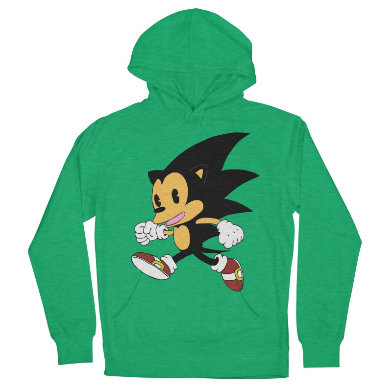 Vintage the Hedgehog Women's Pullover Hoody by Shadeprint's Artist Shop
