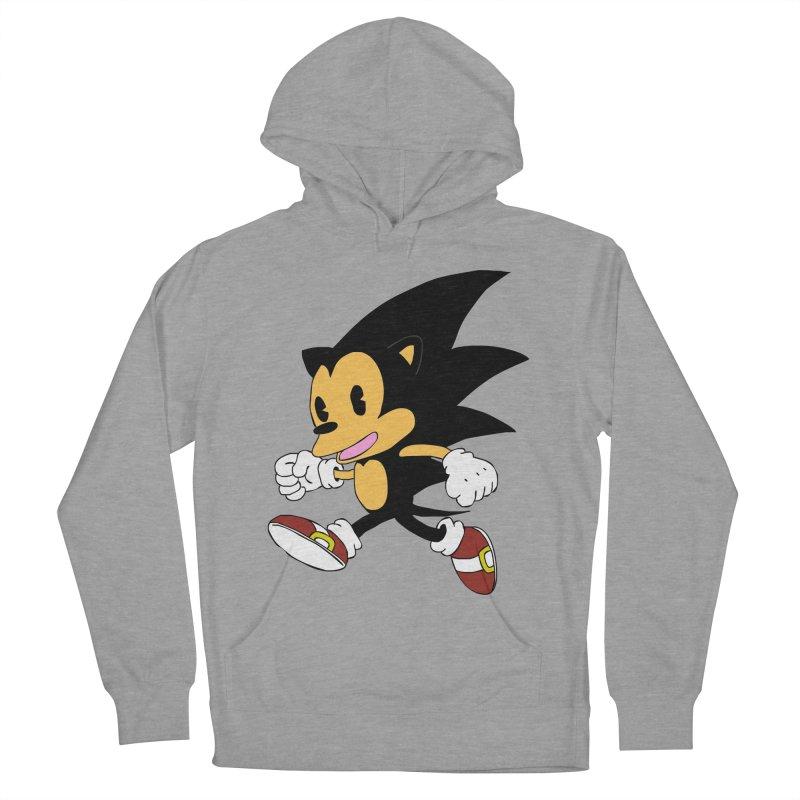 Vintage the Hedgehog Men's Pullover Hoody by Shadeprint's Artist Shop