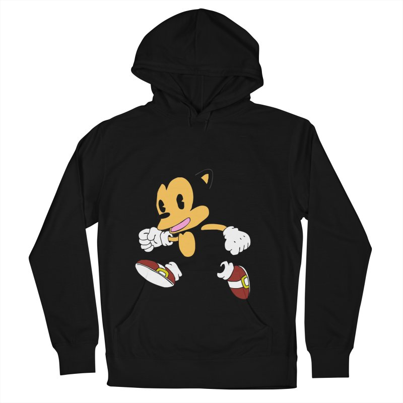 Vintage the Hedgehog Men's Pullover Hoody by Shadeprint's Artist Shop