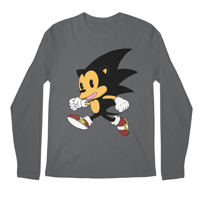 Vintage the Hedgehog Men's Longsleeve T-Shirt by Shadeprint's Artist Shop