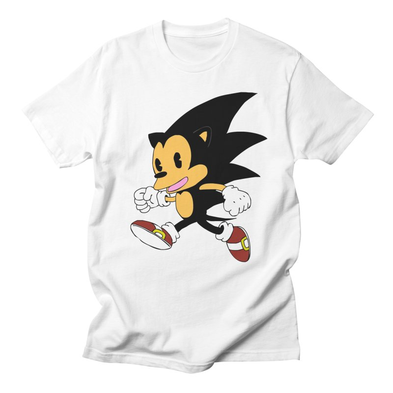 Vintage the Hedgehog Men's T-Shirt by Shadeprint's Artist Shop
