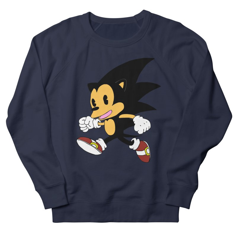 Vintage the Hedgehog Women's French Terry Sweatshirt by Shadeprint's Artist Shop