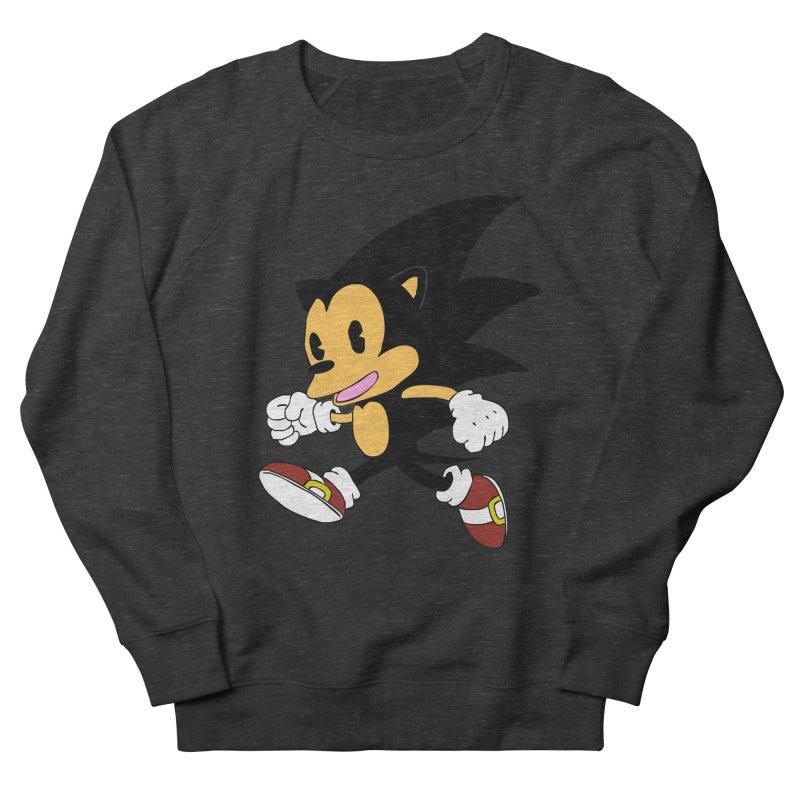 Vintage the Hedgehog Men's French Terry Sweatshirt by Shadeprint's Artist Shop