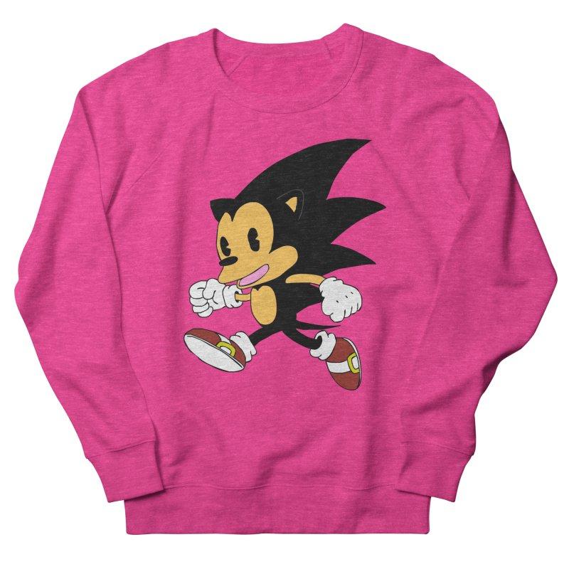 Vintage the Hedgehog Men's Sweatshirt by Shadeprint's Artist Shop