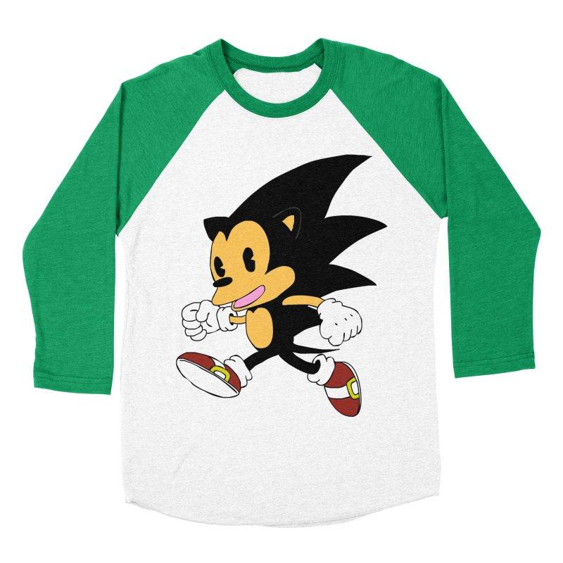 Vintage the Hedgehog Women's Baseball Triblend T-Shirt by Shadeprint's Artist Shop