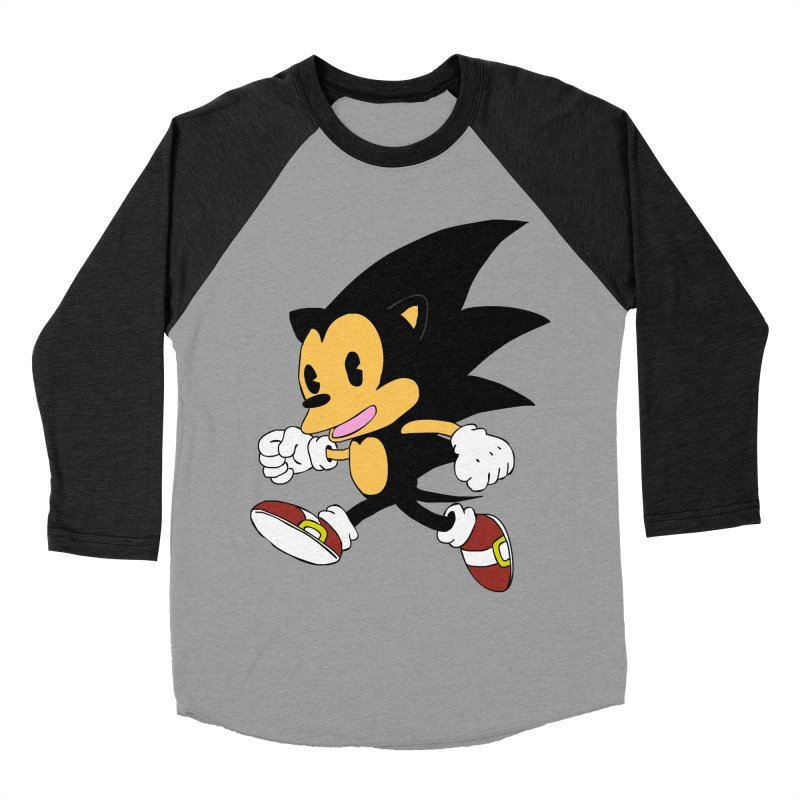 Vintage the Hedgehog Men's Baseball Triblend T-Shirt by Shadeprint's Artist Shop