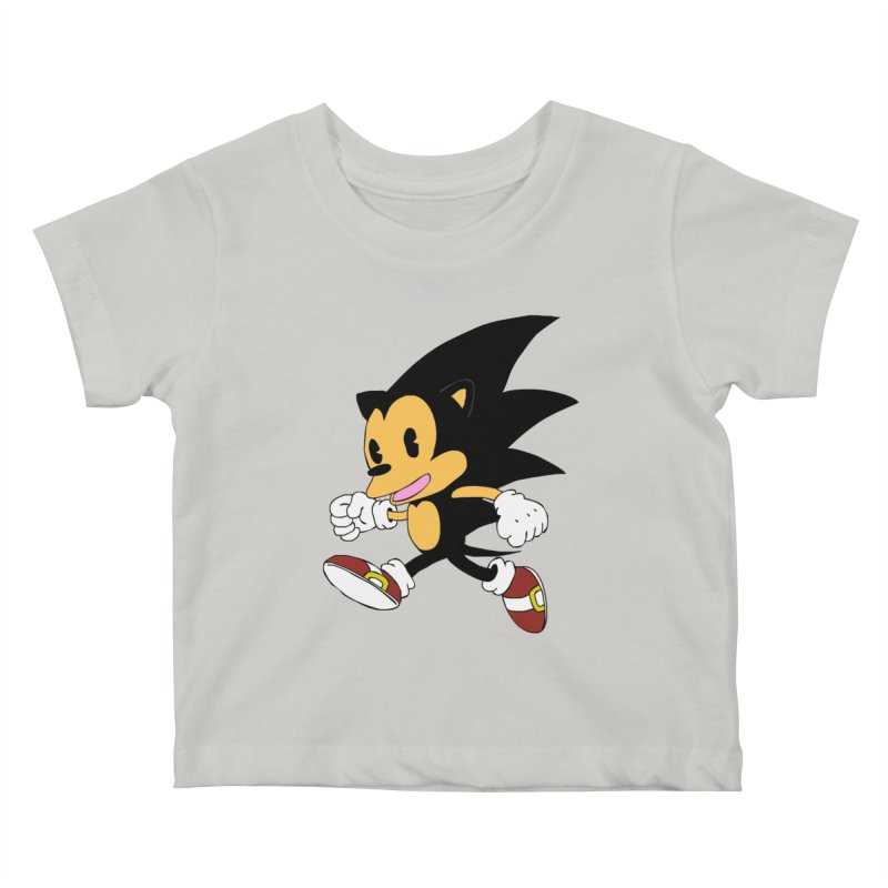 Vintage the Hedgehog Kids Baby T-Shirt by Shadeprint's Artist Shop