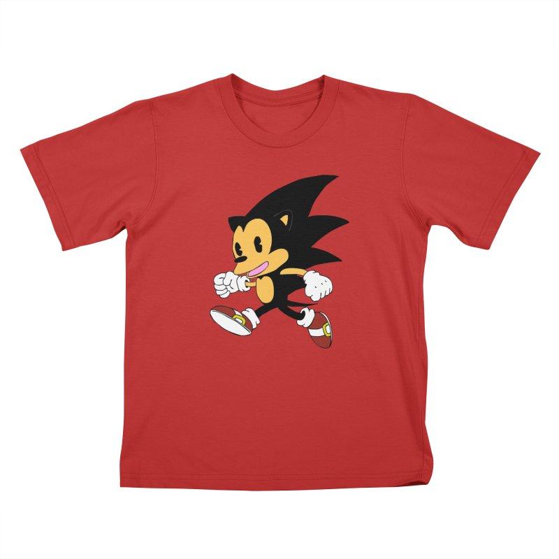 Vintage the Hedgehog Kids T-Shirt by Shadeprint's Artist Shop