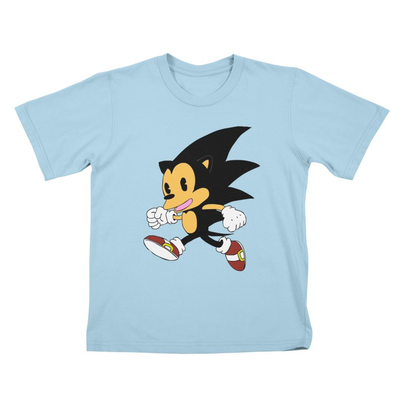 Vintage the Hedgehog Kids T-Shirt by Shadeprint's Artist Shop
