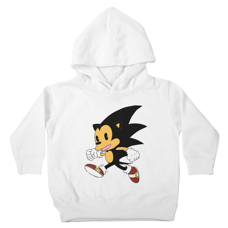 Vintage the Hedgehog Kids Toddler Pullover Hoody by Shadeprint's Artist Shop