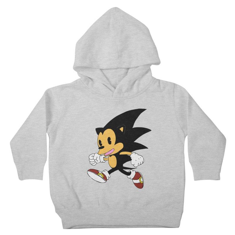 Vintage the Hedgehog Kids Toddler Pullover Hoody by Shadeprint's Artist Shop