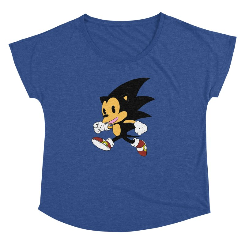 Vintage the Hedgehog Women's Dolman by Shadeprint's Artist Shop