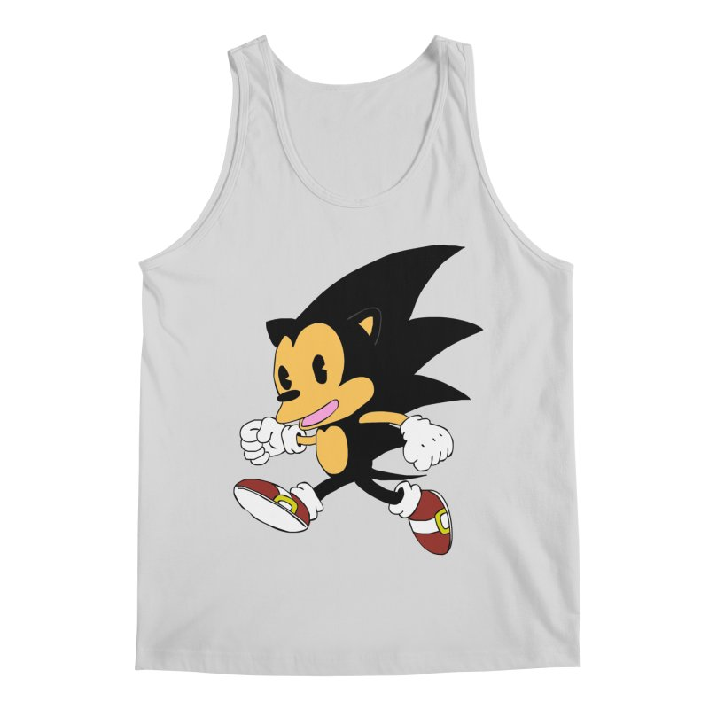Vintage the Hedgehog Men's Regular Tank by Shadeprint's Artist Shop