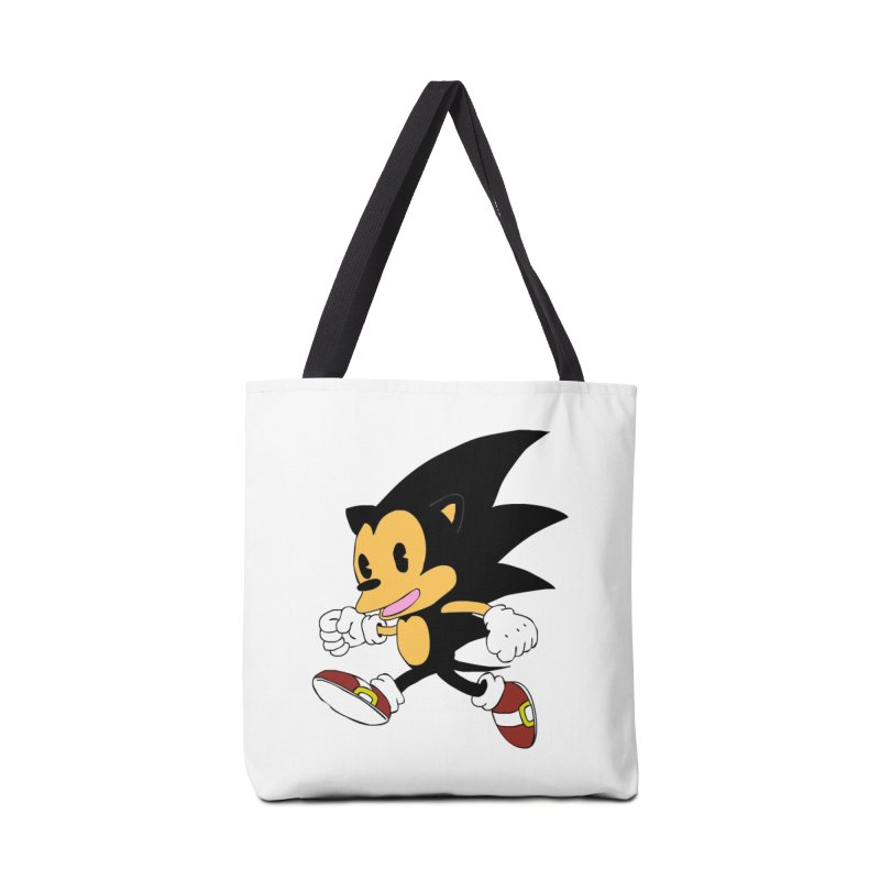 Vintage the Hedgehog Accessories Tote Bag Bag by Shadeprint's Artist Shop