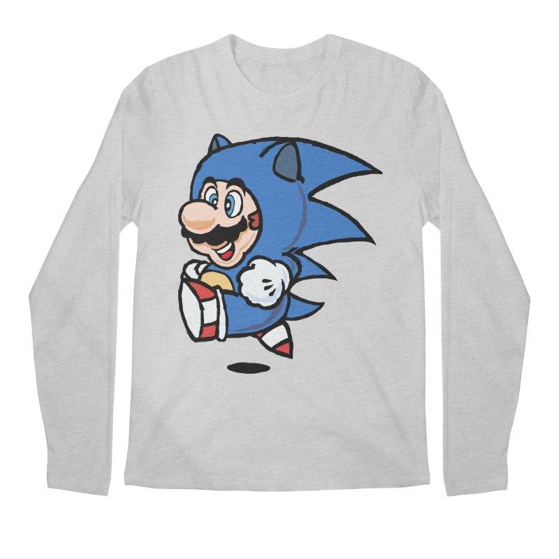 Sonooki Suit Men's Longsleeve T-Shirt by Shadeprint's Artist Shop