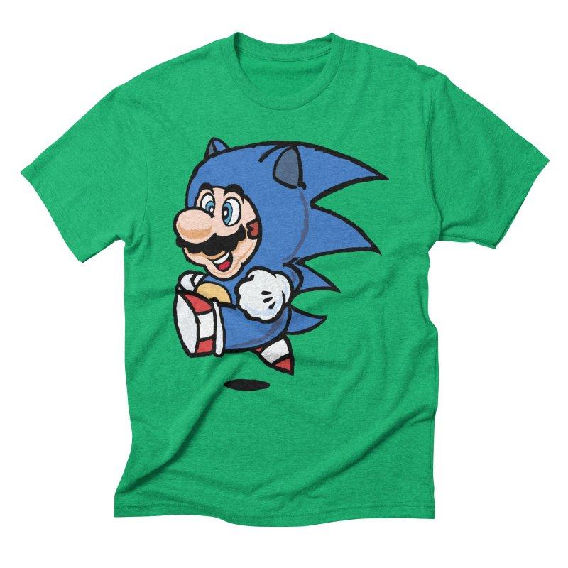 Sonooki Suit Men's Triblend T-Shirt by Shadeprint's Artist Shop
