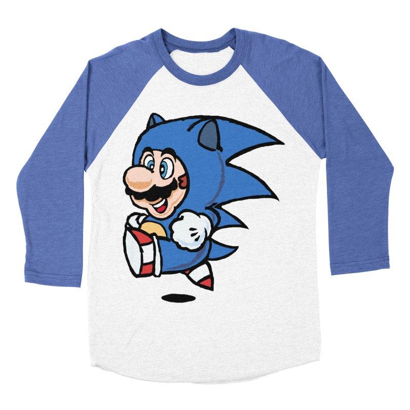 Sonooki Suit Men's Baseball Triblend T-Shirt by Shadeprint's Artist Shop
