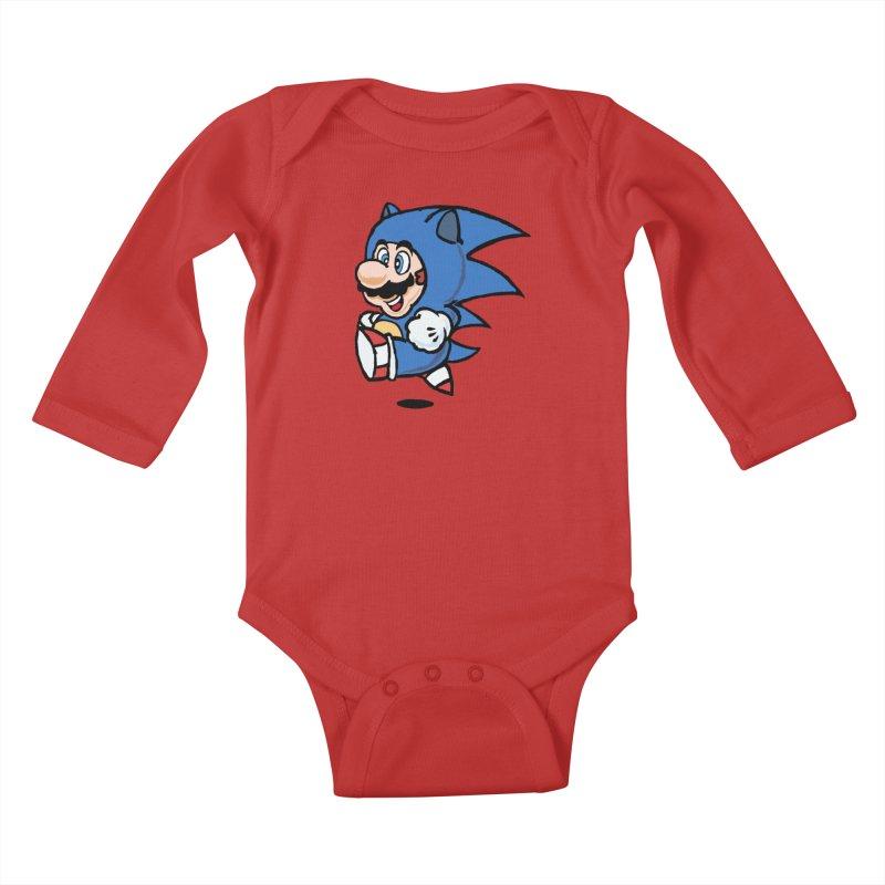 Sonooki Suit Kids Baby Longsleeve Bodysuit by Shadeprint's Artist Shop