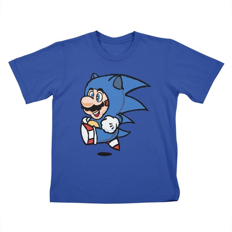 Sonooki Suit Kids T-Shirt by Shadeprint's Artist Shop