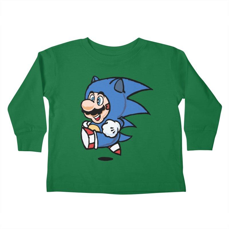 Sonooki Suit Kids Toddler Longsleeve T-Shirt by Shadeprint's Artist Shop
