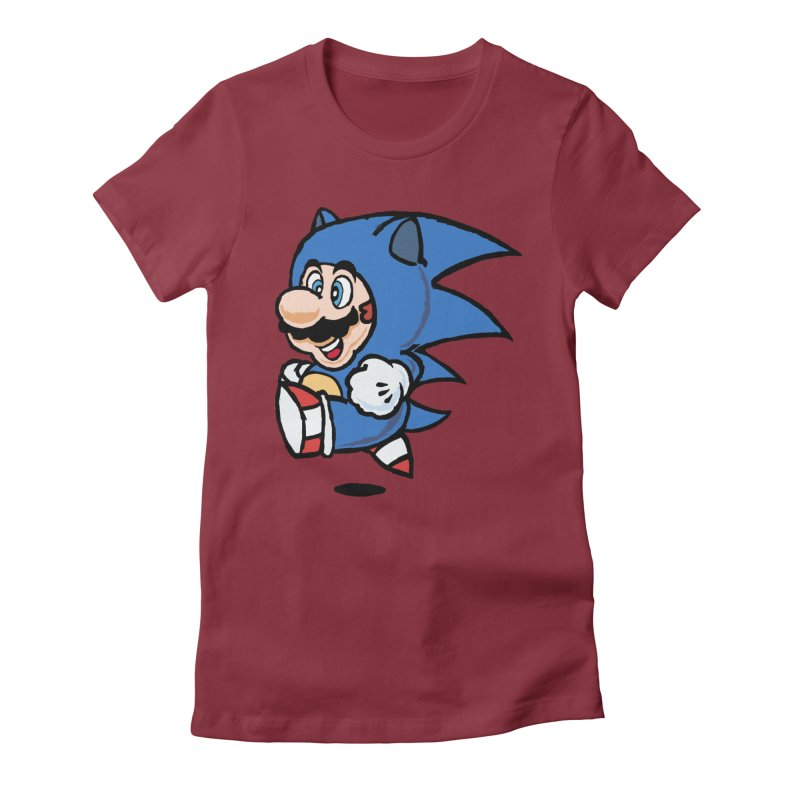 Sonooki Suit Women's Fitted T-Shirt by Shadeprint's Artist Shop
