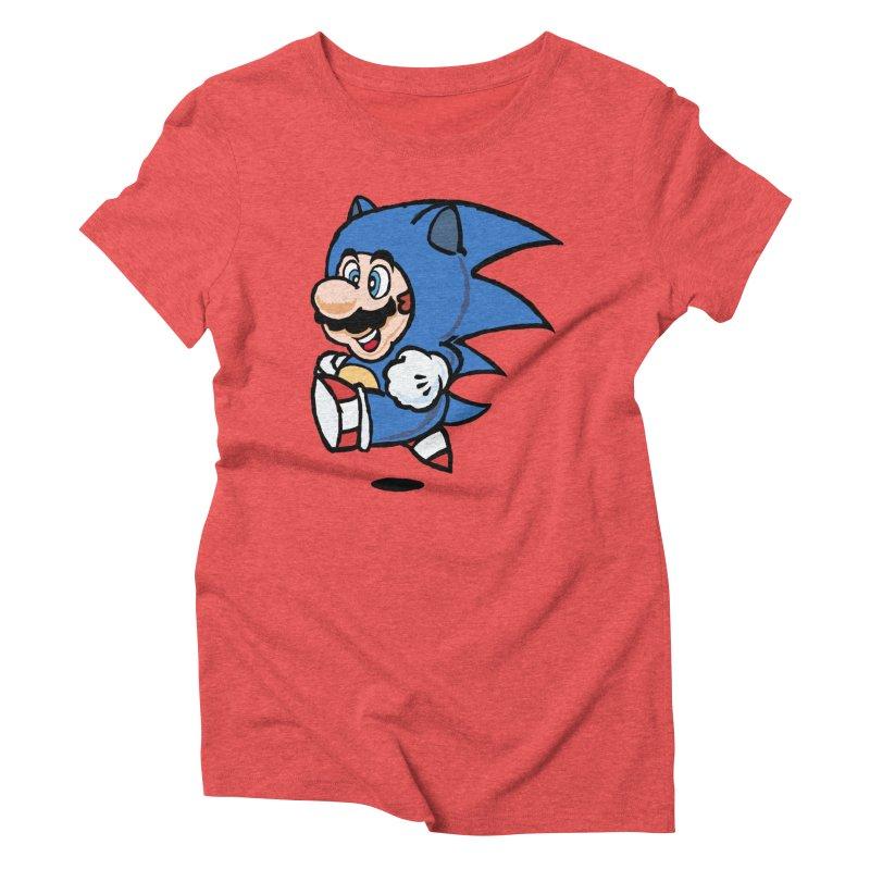 Sonooki Suit Women's Triblend T-Shirt by Shadeprint's Artist Shop