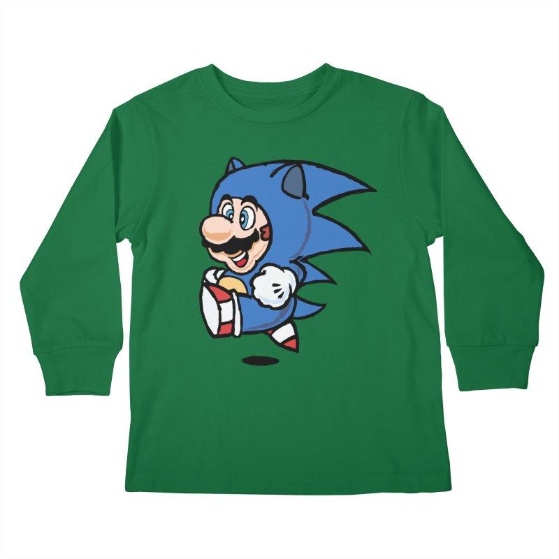 Sonooki Suit Kids Longsleeve T-Shirt by Shadeprint's Artist Shop