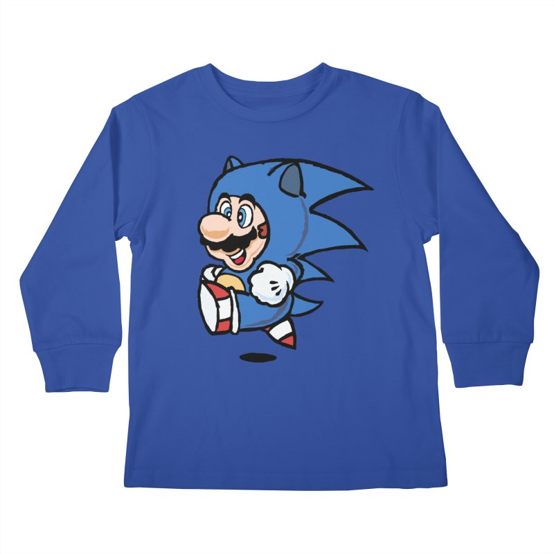 Sonooki Suit Kids Longsleeve T-Shirt by Shadeprint's Artist Shop