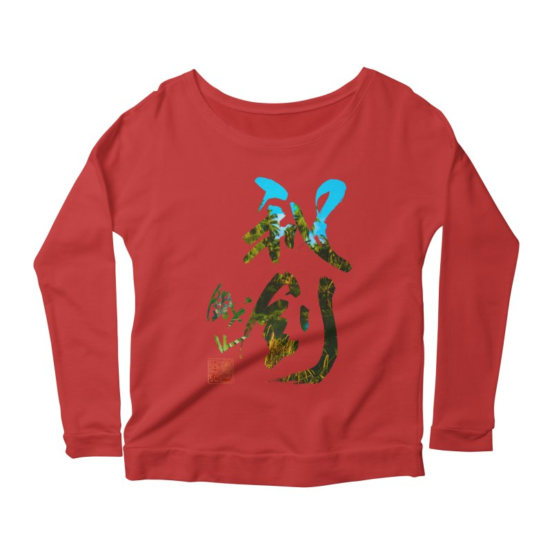 Trademarks. Women's Scoop Neck Longsleeve T-Shirt by Shadeprint's Artist Shop