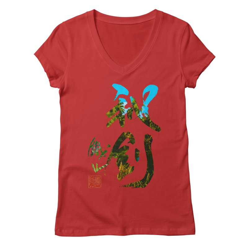Trademarks. Women's V-Neck by Shadeprint's Artist Shop