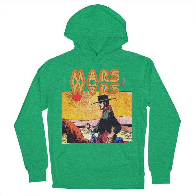 Mars Travels. Women's Pullover Hoody by Shadeprint's Artist Shop