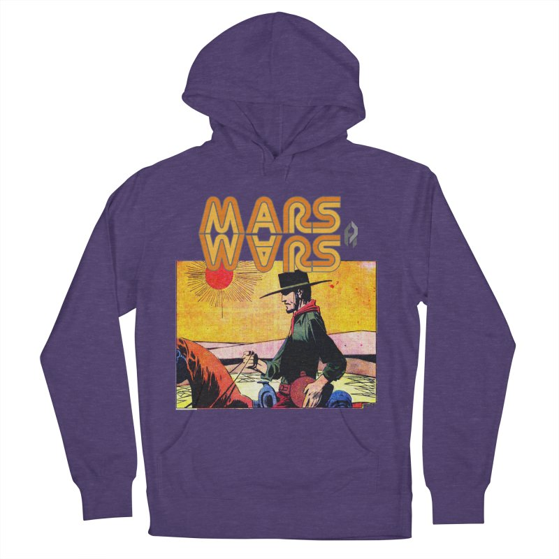Mars Travels. Women's Pullover Hoody by Shadeprint's Artist Shop